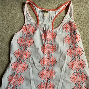 Mossimo tribal tank top